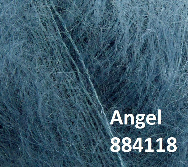 Angel by Permin. Farve 884118 Dusty Blue