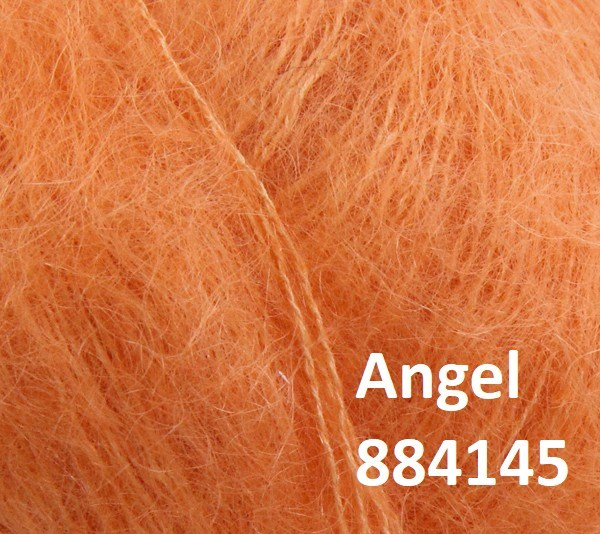 Angel by Permin. Farve 884145 Lys orange
