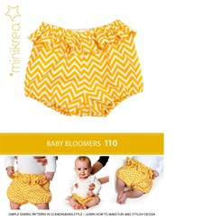 Baby Bloomers  - MiniKrea mønster 110