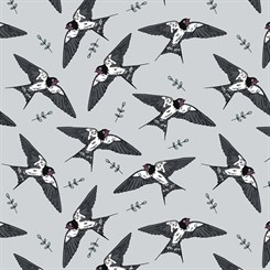 Jersey - Swallows Grey by Bloome Copenhagen nr. 500-092