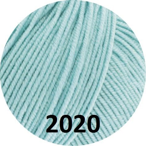 Cool Wool fra Lana Grossa - farve 2020 Turkis