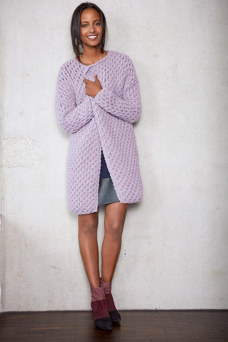 Lana Grossa Design Special 4 - model 16: Cardigan / jakke