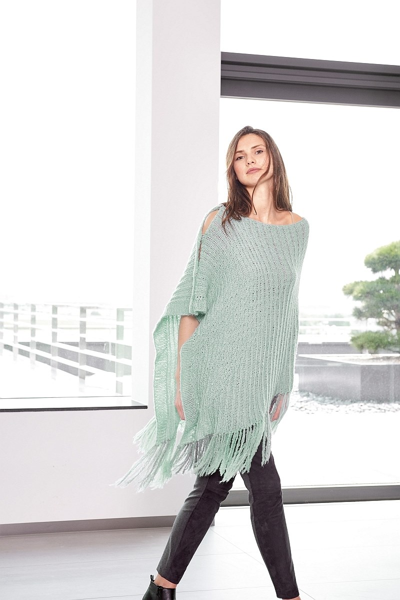 Lana Grossa Design Special 4 - model 28: Poncho