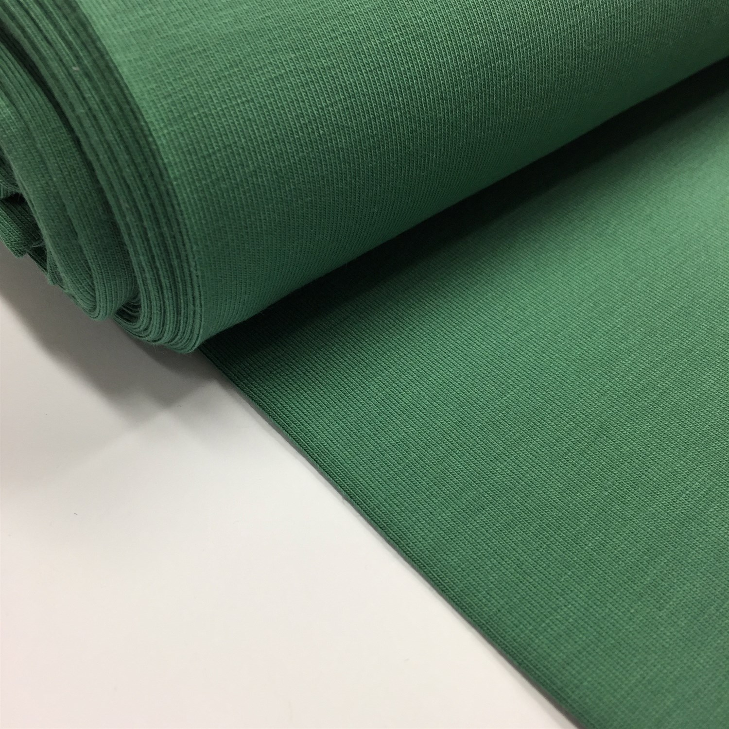 Organic cotton, jadegrøn - Organic cotton + øko-tex