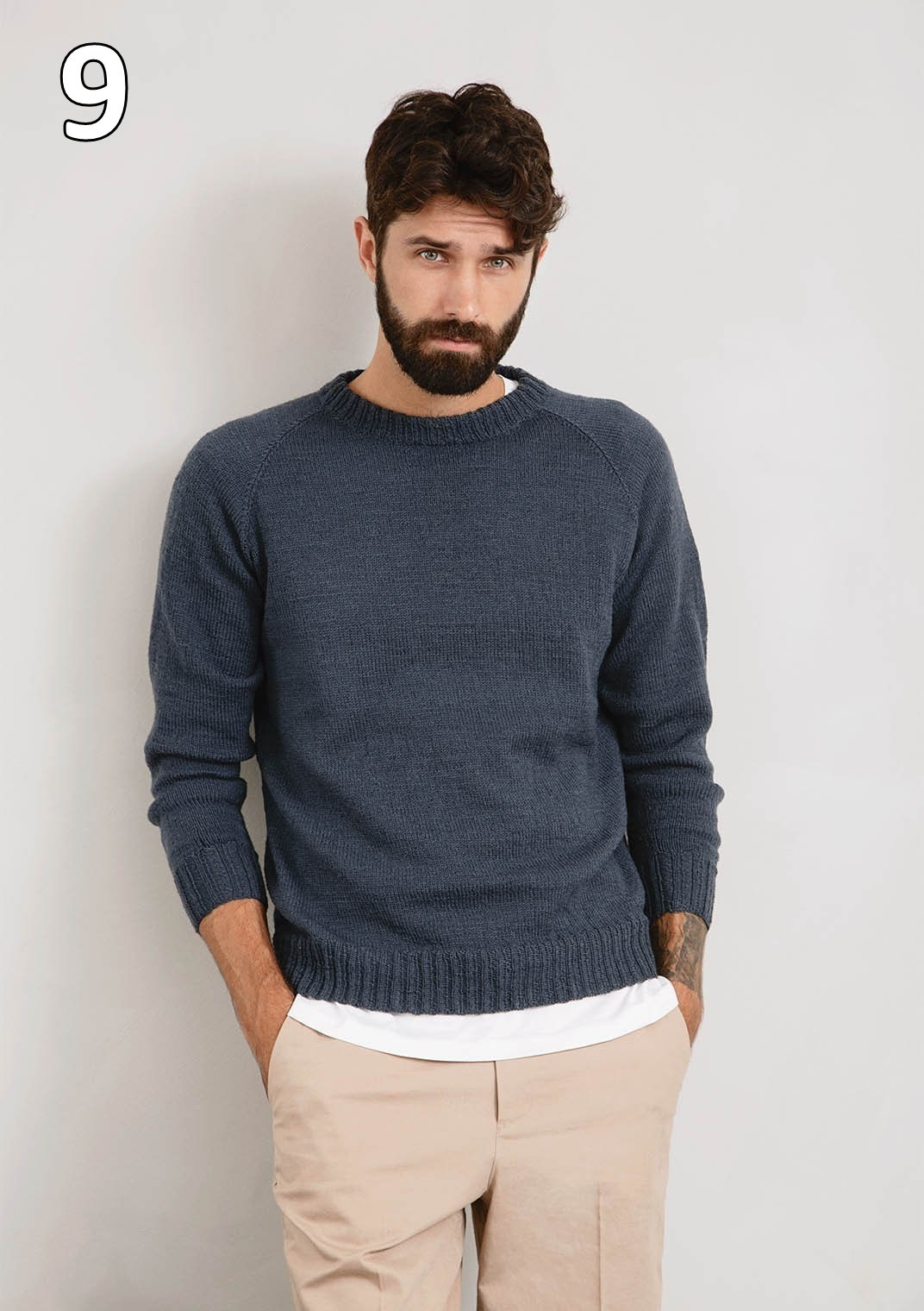 Sandnes 2008 - Sunday model 9 Mr Casual Sweater (Genser)