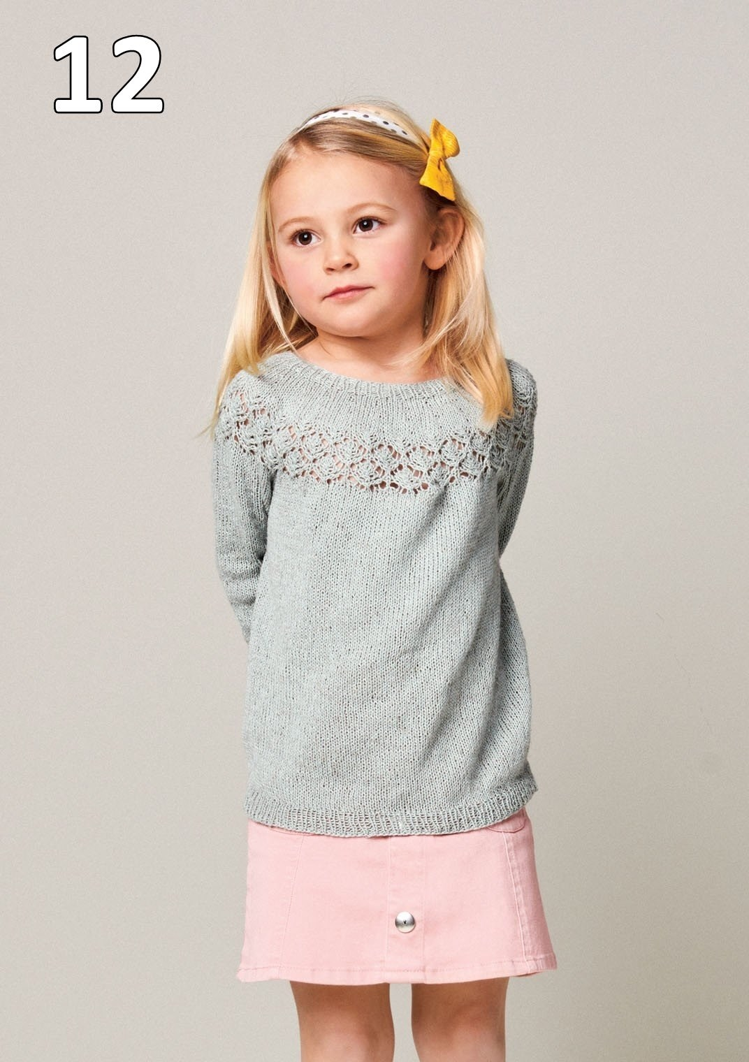 Sandnes 2105 model 12 Pæon Sweater