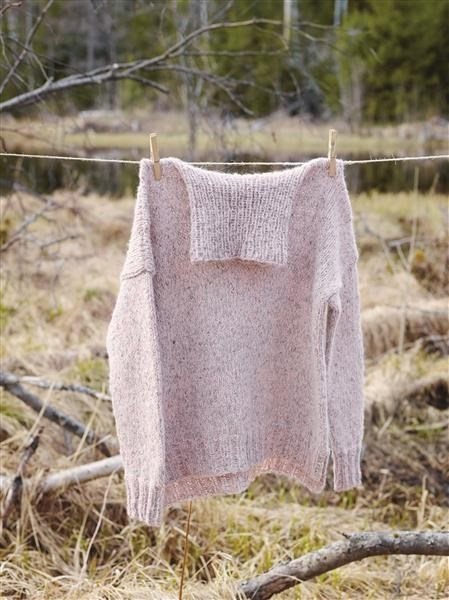 Model 1: Enkel sweater