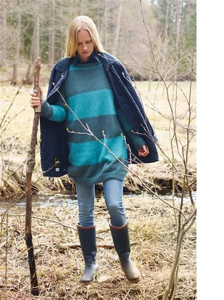 Model 21: Oversize sweater i to farver