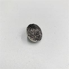 Spiral metalknap, 22 mm