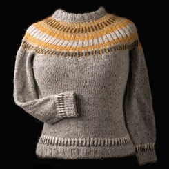 Straight Forward sweater fra West Wooly Design