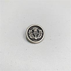 Metalknap - Thistle button