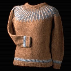 Vibration sweater fra West Wooly Design