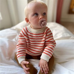 Friday Sweater Baby - strikkeopskrift fra PetiteKnit