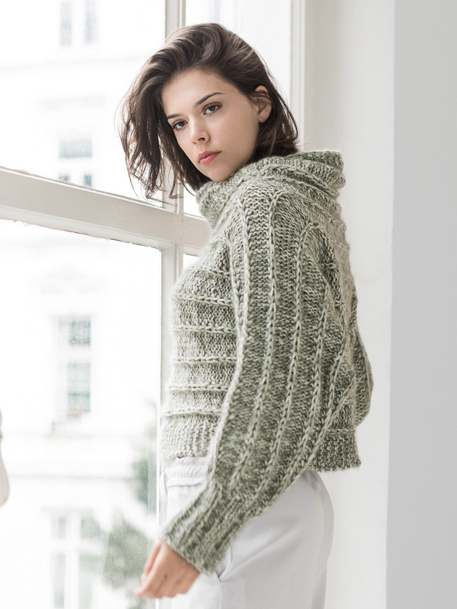 LookBook nr. 7 model 7 Sweater i Benessere og Silkhair