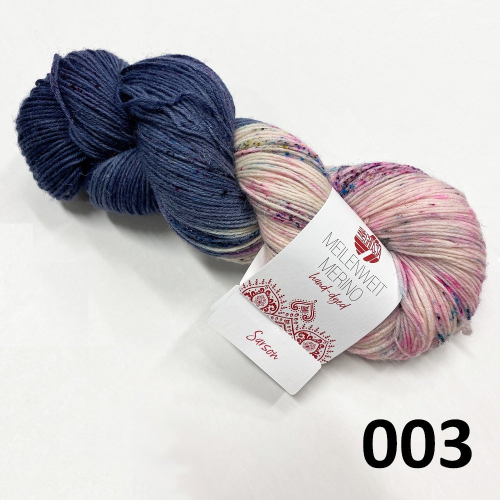 Hand-dyed farve 003 Sarson