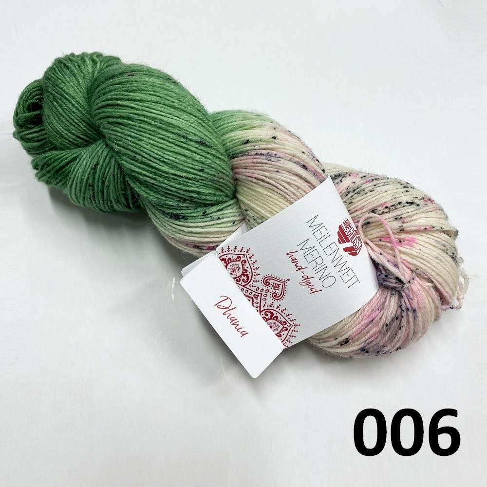 Hand-dyed farve 006 Dhania